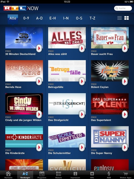 Rtl Television Tv-Sendungen