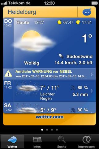 Alle Wetter App