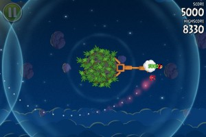 Angry Birds Space nutzt die Gravitation