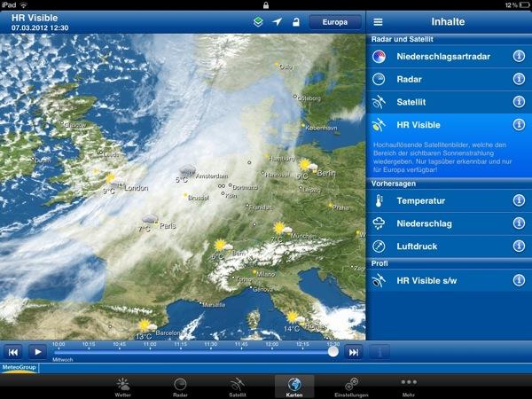 WeatherPro iPad 3