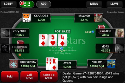 Pokerstars De App