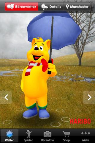 Haribo App Der Goldb 228 R Macht Das Wetter Appgefahren De