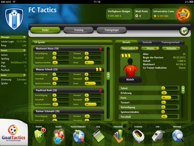 4 GoalTactics
