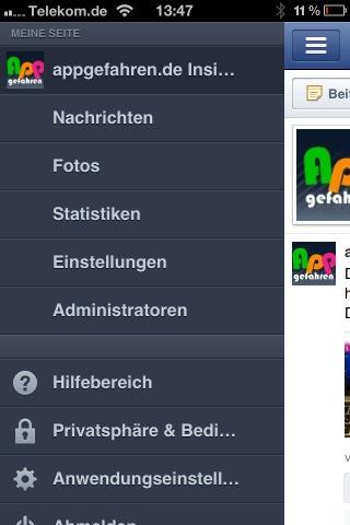 Seitenmanager App