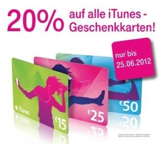 iTunes Karten Telekom
