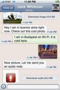 WhatsApp Messenger für iOS