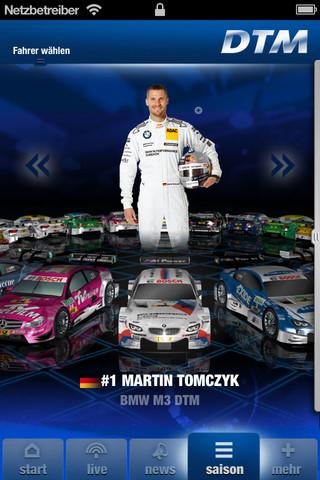 DTM offizielle App