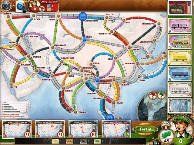 Ticket to Ride Asien