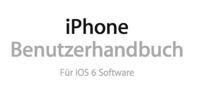 Benutzerhandbuch iOS 6