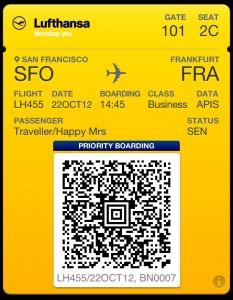 Lufthansa Passbook