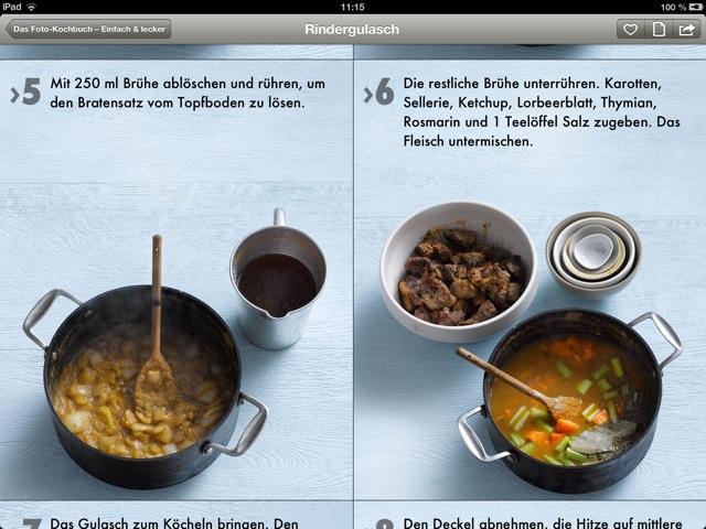 Das Foto-Kochbuch 1