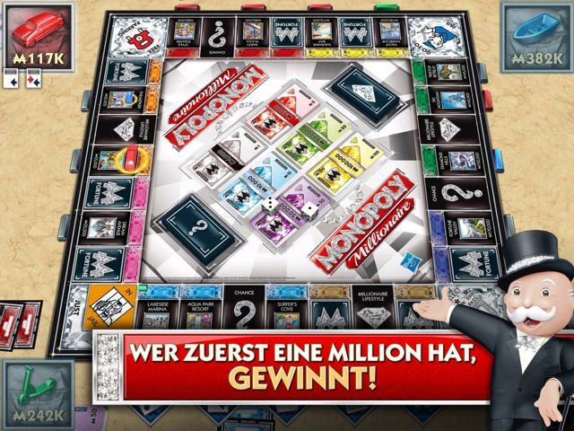 Monopoly Millionär für iPhone und iPad
