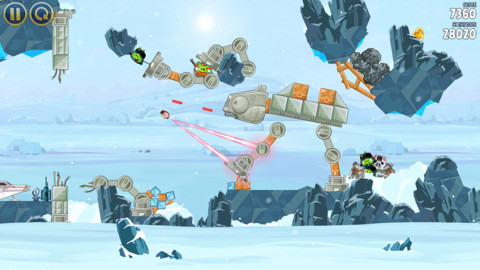 Angry Birds Star Wars Eis