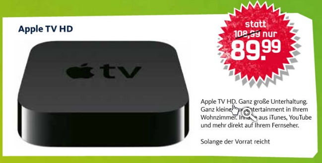Apple TV Mobilcom