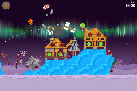 Angry Birds Seasons Winter