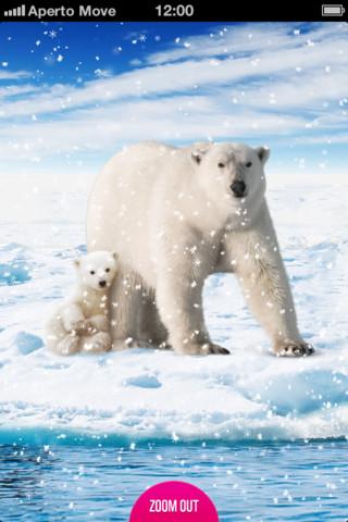 WWF Schneekugel