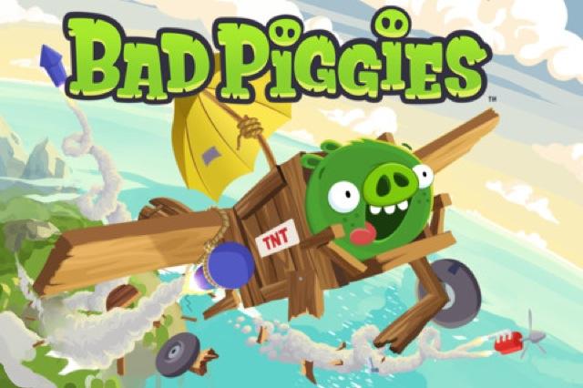 Bad Piggies Spiele