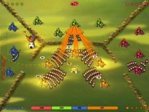 Mushroom Wars bekommt Multiplayer