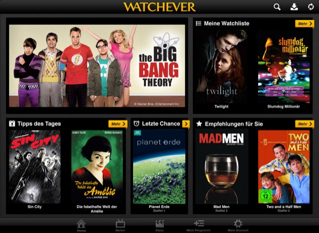 Watchever Filme