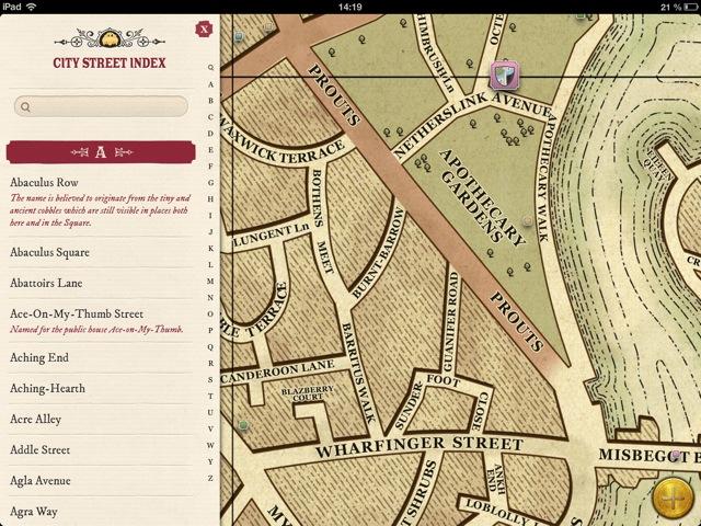 Discworld - The Ankh-Morpork Map: Karten-App für alle Scheibenwelt on