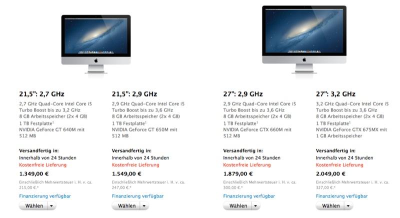 Apple Store iMac