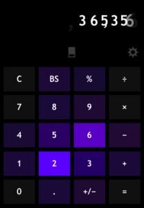 Taschenrechner mit Design