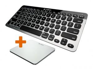 Tastatur und Trackpad