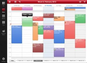Week Calendar HD neu für das iPad