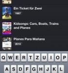 TodoMovies für das iPhone