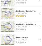 Bikemap für das iPhone