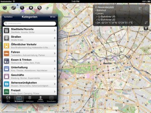 Pocket Earth - Offline-Karten für iOS