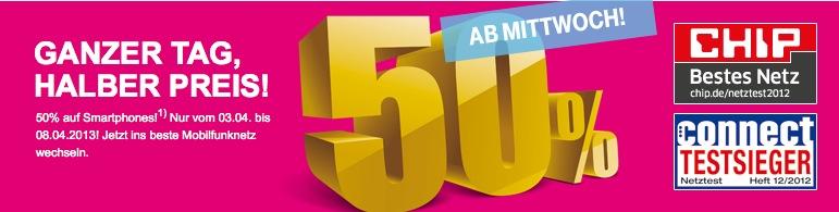 Telekom 50 Prozent