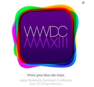 Apple Einladung zur WWDC