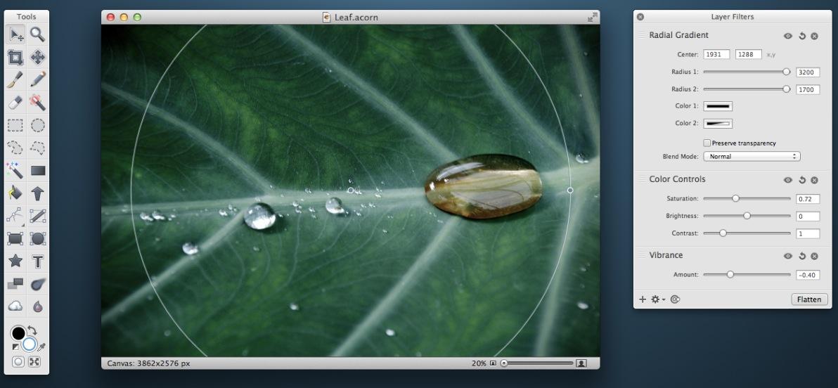 Acorn - Bildbearbeitung für den Mac
