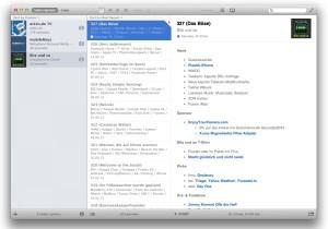 Instacast Mac