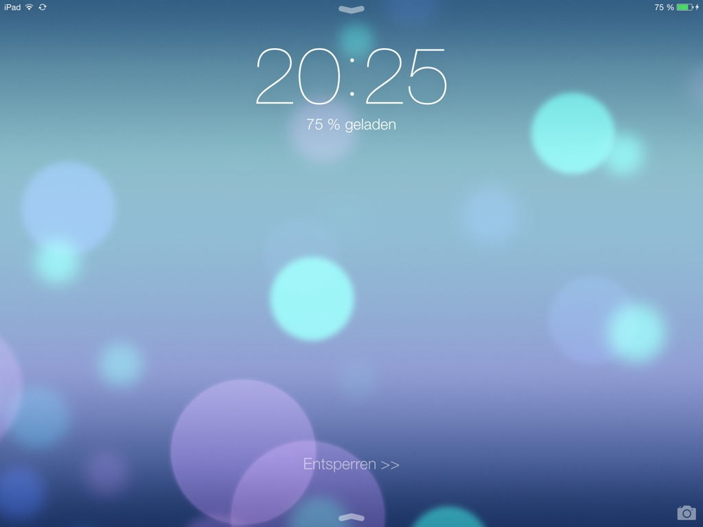 Ipad Lock Screen Ios 7 6 Ios 7 Ipad Lockscreen