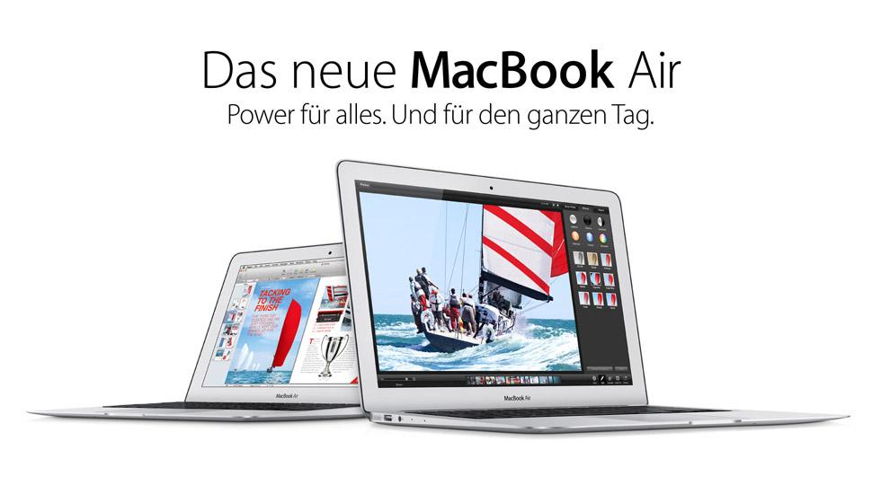 MacBook Air neu