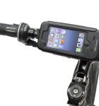 BioLogic Bike Mount Plus for iPhone 5, on bike landscape
