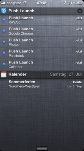Push Launcher