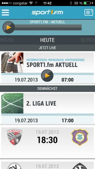Sport1 Fm Bundesliga Radio