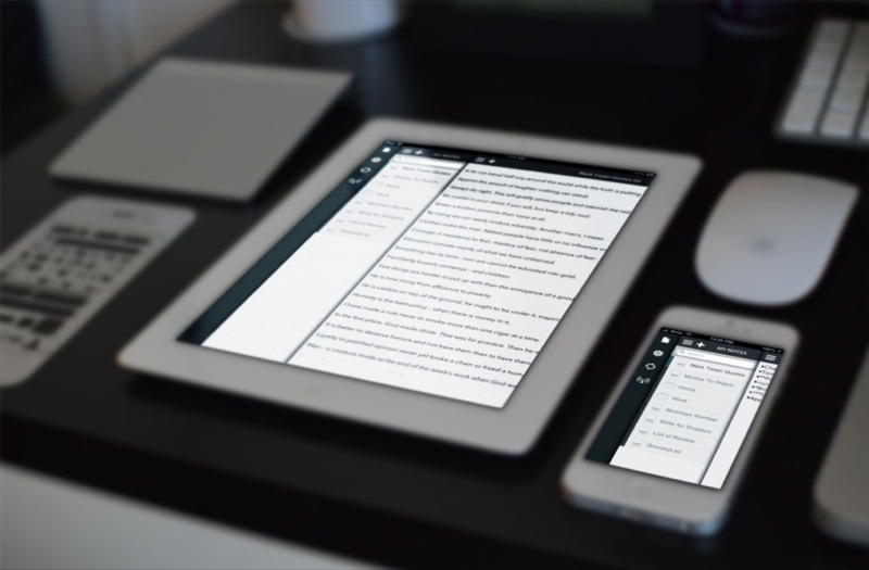 Write for iPhone and iPad