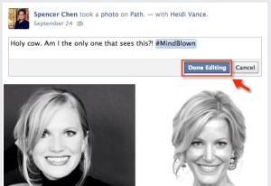 Facebook Editing