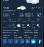 Wetter-App-Vergleich Celsius