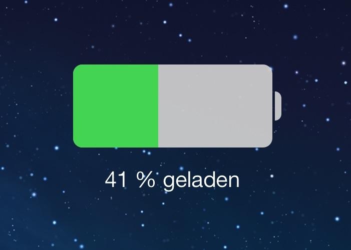 iOS 7 Akku1