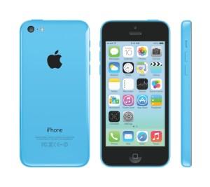 iPhoen 5c blau