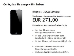 Apple Trade-In-Programm Deutschland