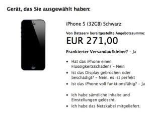 Apple Trade-In-Programm Deutschland