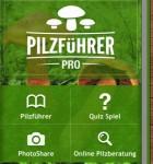 Pilzführer PRO Menü
