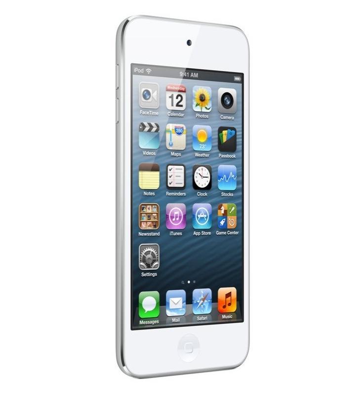iPod Touch 5G weiss und silber