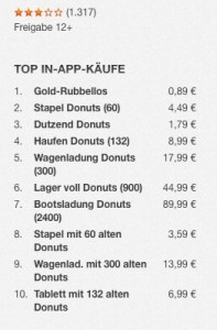 App Store Donuts